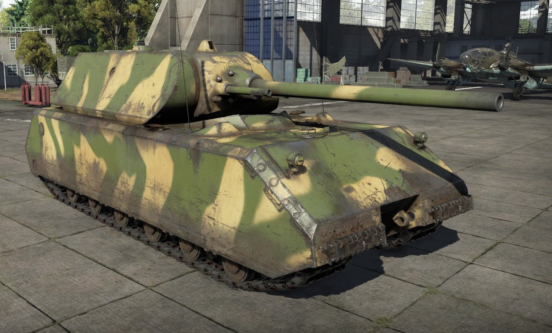 маус танк вар тандер